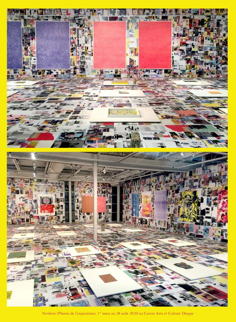 visuel expo yellow